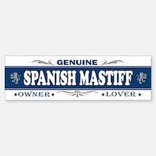 SPANISH MASTIFF Bumper Bumper Bumper Sticker