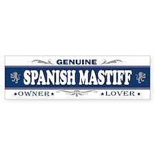 SPANISH MASTIFF Bumper Bumper Sticker