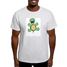 Skuzzo Happy Turtle Ash Grey T-Shirt