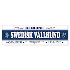 SWEDISH VALLHUND Bumper Bumper Sticker