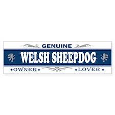 WELSH SHEEPDOG Bumper Car Sticker