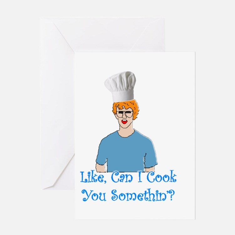 Cute Fry cooks Greeting Card