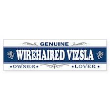 WIREHAIRED VIZSLA Bumper Car Sticker