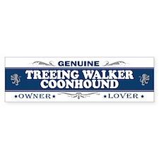 TREEING WALKER COONHOUND Bumper Bumper Sticker