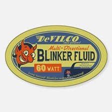 DeVilco Blinker Fluid Sticker (Oval)