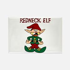 Redneck elf Rectangle Magnet