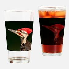 Cute Pileated woodpecker Drinking Glass