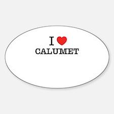 I Love CALUMET Decal
