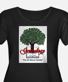 It's All About Family Plus Size T-Shirt