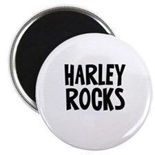 Harley Rocks Magnet