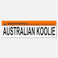 AUSTRALIAN KOOLIE Bumper Bumper Bumper Sticker