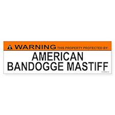 AMERICAN BANDOGGE MASTIFF Bumper Bumper Sticker