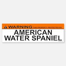 AMERICAN WATER SPANIEL Bumper Bumper Bumper Sticker