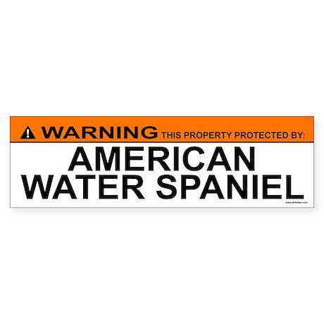 AMERICAN WATER SPANIEL Bumper Sticker