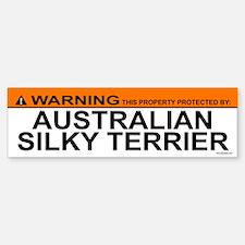 AUSTRALIAN SILKY TERRIER Bumper Bumper Bumper Sticker