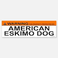 AMERICAN ESKIMO DOG Bumper Bumper Bumper Sticker
