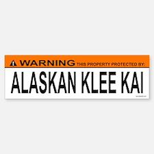 ALASKAN KLEE KAI Bumper Bumper Bumper Sticker