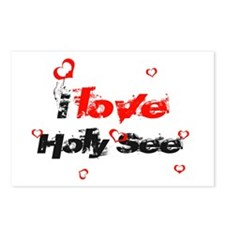 I love Holy See Postcards (Package of 8)