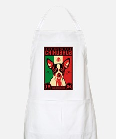 Obey the Chihuahua! 1904 BBQ Apron