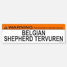 BELGIAN SHEPHERD TERVUREN Bumper Bumper Bumper Sticker