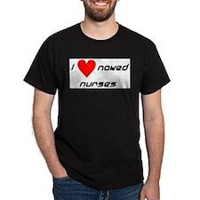 NakedNurse Dark T-Shirt