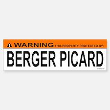 BERGER PICARD Bumper Bumper Bumper Sticker