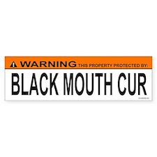 BLACK MOUTH CUR Bumper Bumper Sticker