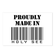 Proudly made in Holy See Postcards (Package of 8)