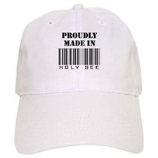 Proudly made in Holy See Baseball Cap