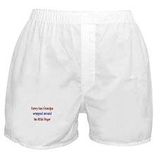 Henry - Grandpa Wrapped Aroun Boxer Shorts