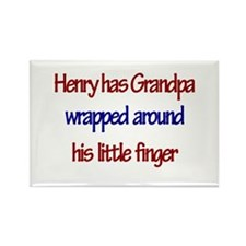 Henry - Grandpa Wrapped Aroun Rectangle Magnet