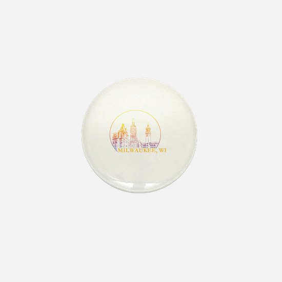 Cute Milwaukee Mini Button
