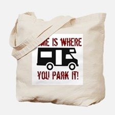 Home (RV) Tote Bag