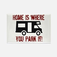 Home (RV) Rectangle Magnet