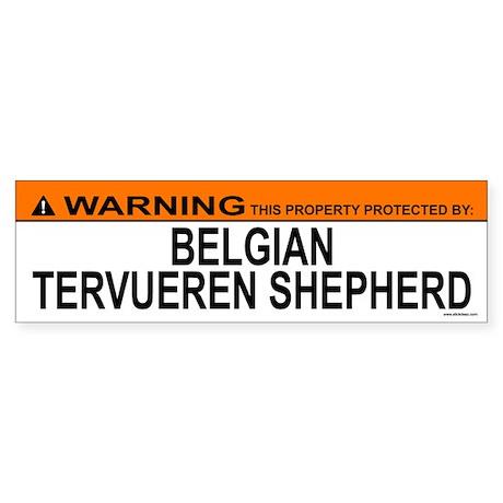 BELGIAN TERVUEREN SHEPHERD Bumper Sticker