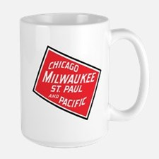 Badge of Chicago, Milwaukee, St.Paul & Pacifi Mugs