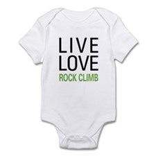 Live Love Rock Climb Infant Bodysuit