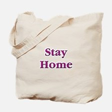 Stay Home Euchre Tote Bag