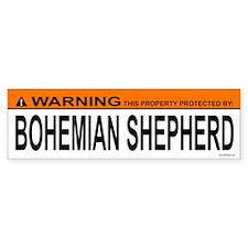 BOHEMIAN SHEPHERD Bumper Bumper Sticker