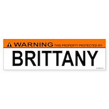 BRITTANY Bumper Bumper Sticker
