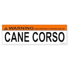 CANE CORSO Bumper Bumper Sticker