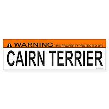 CAIRN TERRIER Bumper Bumper Sticker