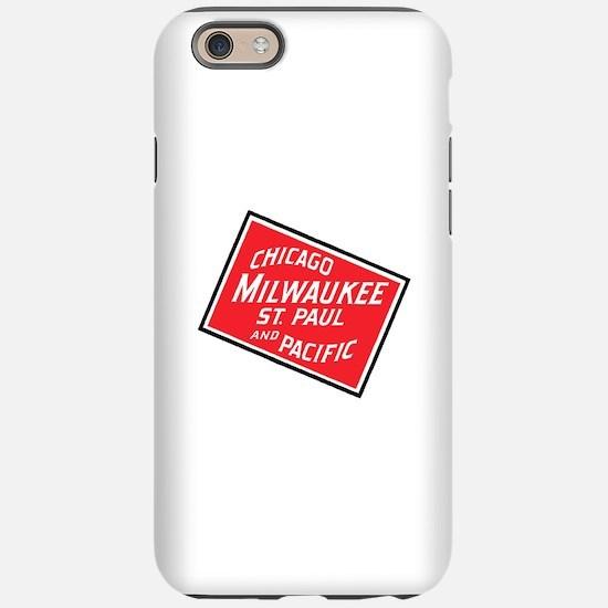 Badge of Chicago, Milwaukee iPhone 6/6s Tough Case