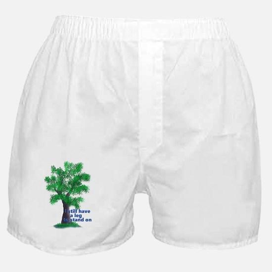 Unique Amputee Boxer Shorts