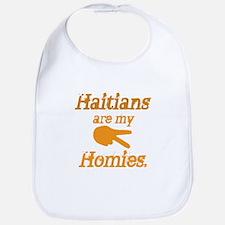 Haitians are my Homies Bib