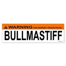 BULLMASTIFF Bumper Bumper Sticker