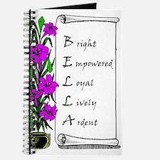 Bella Flowers & Scroll Journal