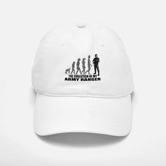 Evolution - An Army Ranger Baseball Baseball Cap