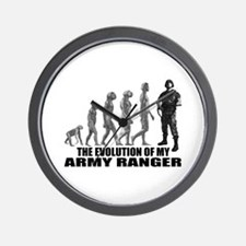 Evolution - An Army Ranger Wall Clock