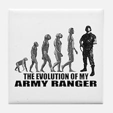 Evolution - An Army Ranger Tile Coaster